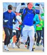 033 Shamrock Run Series Fleece Blanket