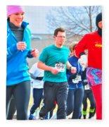 034 Shamrock Run Series Fleece Blanket