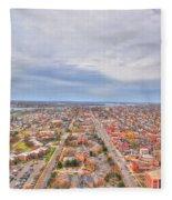 040 Series Of Buffalo Ny Via Birds Eye West Side  Fleece Blanket