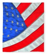 05 American Flag Fleece Blanket