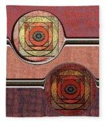 0523 Abstract Thought Fleece Blanket