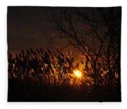 06 Sunset Fleece Blanket