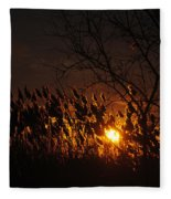 06 Sunset Fleece Blanket