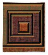 0622 Abstract Thought Fleece Blanket