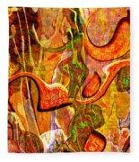 0625 Abstract Thought Fleece Blanket