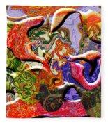 0627 Abstract Thought Fleece Blanket