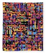 0649 Abstract Thought Fleece Blanket