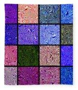 0663 Abstract Thought Fleece Blanket