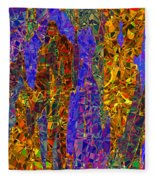 0666 Abstract Thought Fleece Blanket