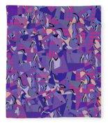 0667 Abstract Thought Fleece Blanket