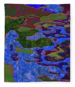 0681 Abstract Thought Fleece Blanket