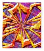 0692 Abstract Thought Fleece Blanket