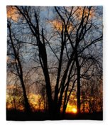 07 Sunset Fleece Blanket