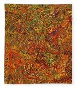 0700 Abstract Thought Fleece Blanket