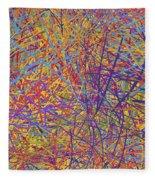0705 Abstract Thought Fleece Blanket