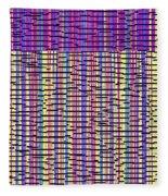 0718 Abstract Thought Fleece Blanket