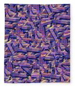0724 Abstract Thought Fleece Blanket