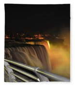 08 Niagara Falls Usa Series Fleece Blanket