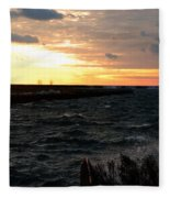 08 Sunset Fleece Blanket