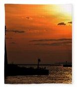 08 Sunset Series Fleece Blanket