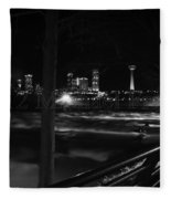 09 Niagara Falls Usa Rapids Series Fleece Blanket