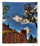 002 The 74th Regimental Armory In Buffalo New York Fleece Blanket