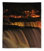 01 Niagara Falls Usa Series Fleece Blanket