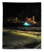 010 Niagara Falls Usa Rapids Series Fleece Blanket
