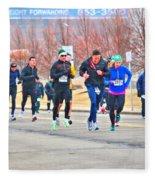 012 Shamrock Run Series Fleece Blanket