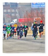 013 Shamrock Run Series Fleece Blanket