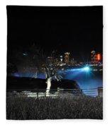 014 Niagara Falls Usa Series Fleece Blanket
