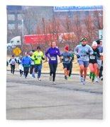 014 Shamrock Run Series Fleece Blanket