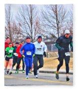 015 Shamrock Run Series Fleece Blanket