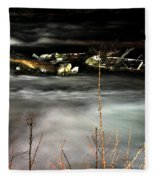 03 Niagara Falls Usa Rapids Series Fleece Blanket
