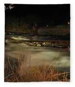 04 Niagara Falls Usa Rapids Series Fleece Blanket