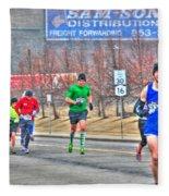 04 Shamrock Run Series Fleece Blanket