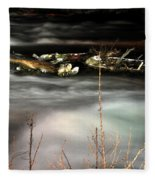 05 Niagara Falls Usa Rapids Series Fleece Blanket
