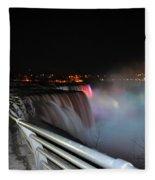 05 Niagara Falls Usa Series Fleece Blanket