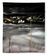 06 Niagara Falls Usa Rapids Series Fleece Blanket