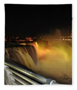 06 Niagara Falls Usa Series Fleece Blanket