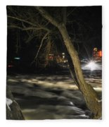 07 Niagara Falls Usa Rapids Series Fleece Blanket