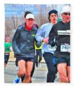 07 Shamrock Run Series Fleece Blanket