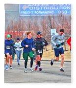09 Shamrock Run Series Fleece Blanket