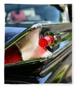 1958 Mercury Park Lane Tail Light Fleece Blanket
