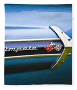 1960 Chevrolet Impala Emblem Fleece Blanket
