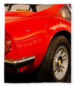 1973 Ferrari Dino 246 Gt Fleece Blanket