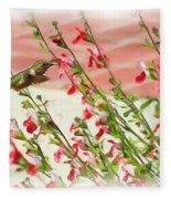 A Garden Delight Fleece Blanket