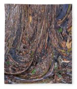 Abstarct Flood Fleece Blanket