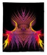 Abstract 150 Fleece Blanket