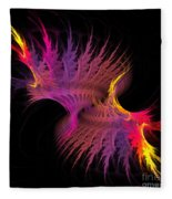 Abstract 151 Fleece Blanket